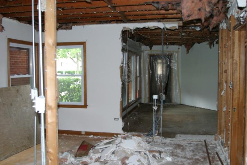 Demolition Of Old Residence
