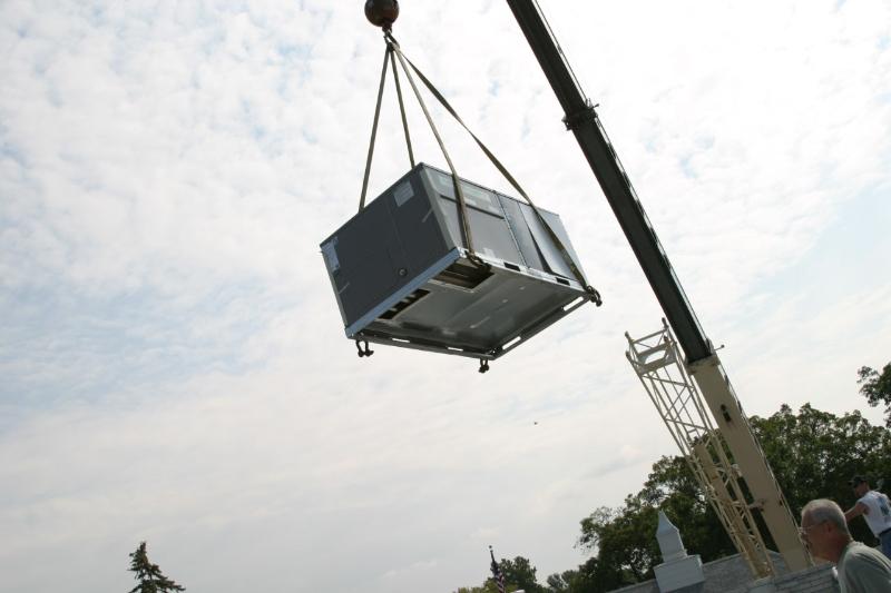 Hoisting Air Conditioner