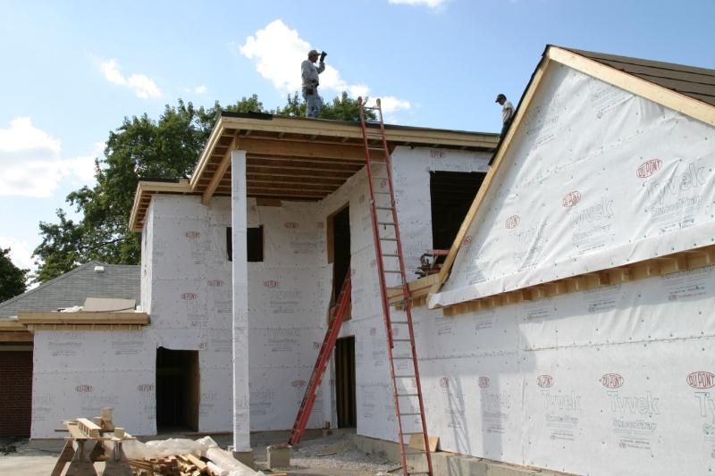 Framing Building