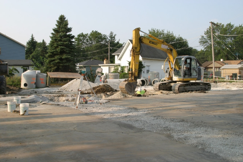 Forming New Alley
