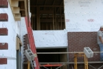 Laying Brick Facade