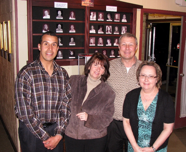 Hitzeman Family Staff At The Theatre