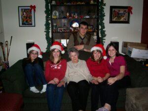 mom w grandkids